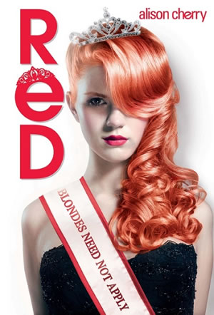 Red by Alison Cherry. UK/Australia/New Zealand cover
