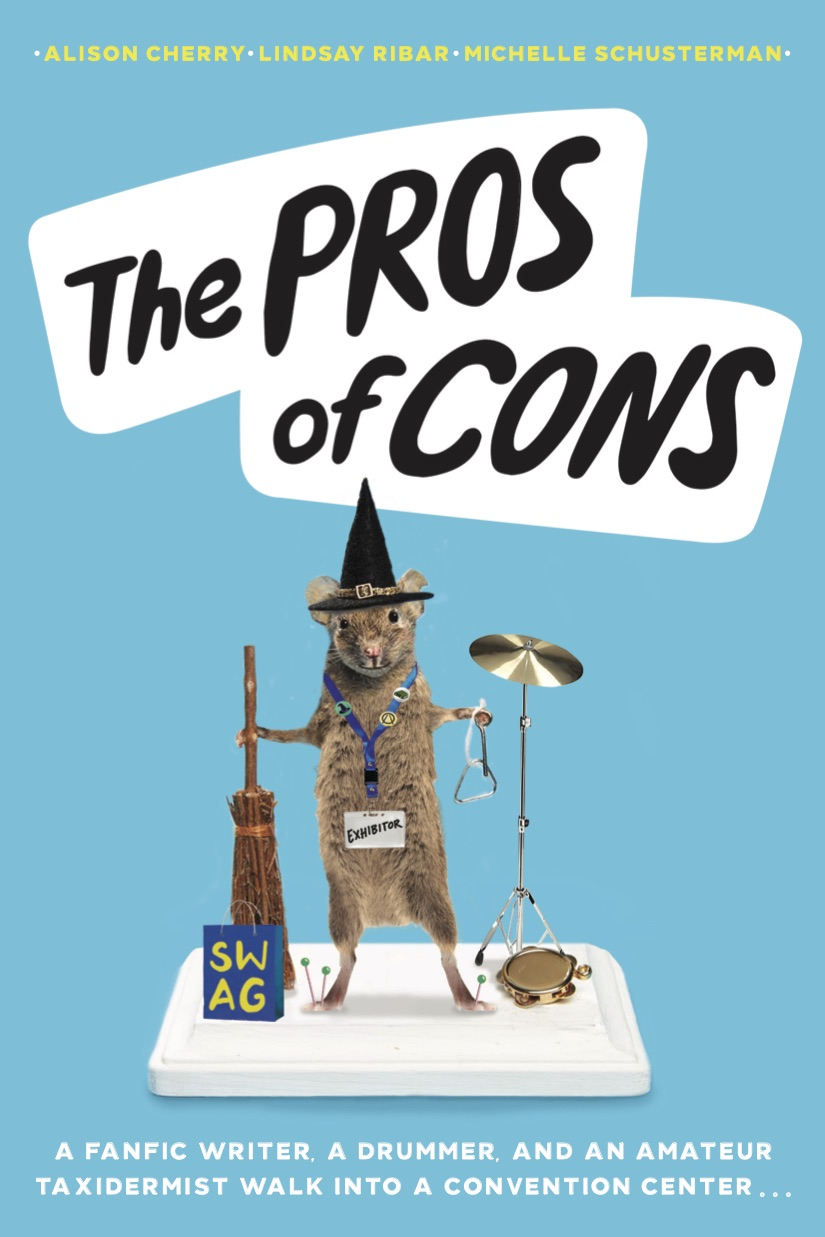 The Pros of Cons by author Alison Cherry
